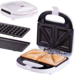 sandwichmaker mit wechselplatten 2