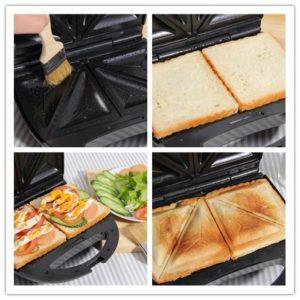 sandwichmaker mit wechselplatten 31